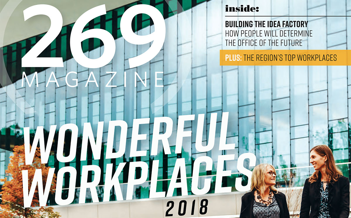 The Wiser Financial Group Recognized as a 2018 Wonderful Workplace by 269 MAGAZINE