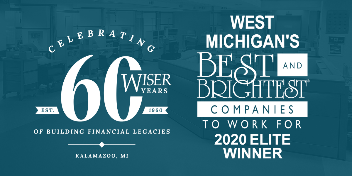 Wiser Financial Group Receives 2020 Best and Brightest Companies to Work For ® Elite Award for Diversity and Inclusion in West Michigan